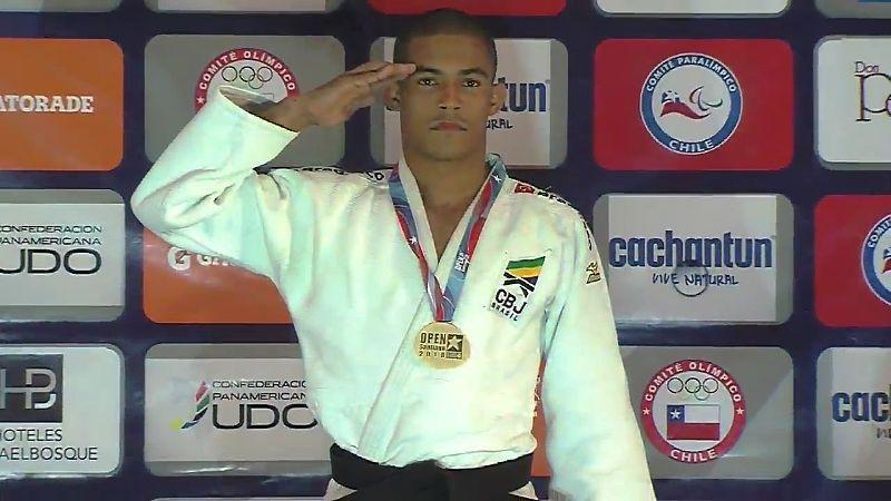 Diego Santos conquista o ouro e se torna bicampeão do Open Pan-Americano de Judô