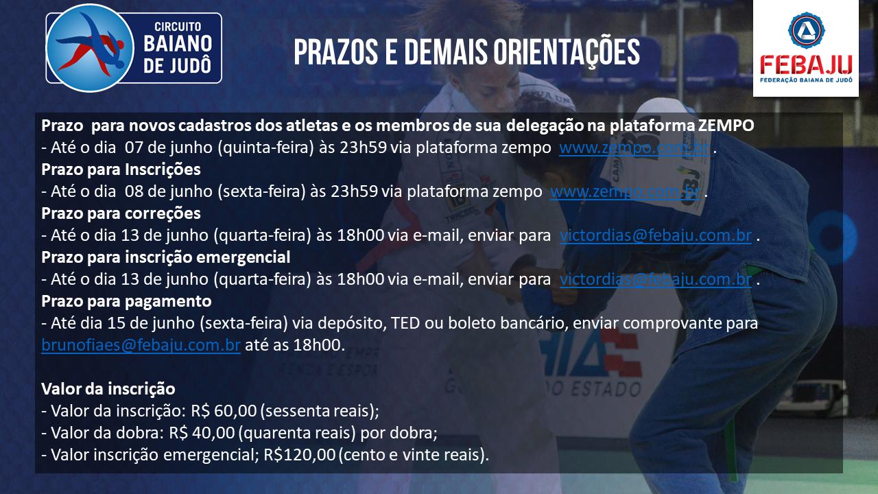 4368f52c47 FEBAJU promove Super Etapa do Circuito Baiano de Judô e Festival da ...